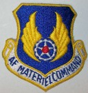 US Air Force Materiel Command Tygmärke färg