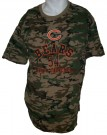 Chicago Bears #54 Urlacher NFL Camo T-Shirt: L
