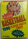Samlarbilder NBA Basket Fleer 1990