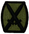 10th Infantry Division Kardborre Multicam OCP