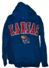Kansas University KU Hooded Sweater: S