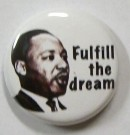 Badge Knappmärke Martin Luther King Jr