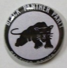 Badge Knappmärke Black Power Black Panther