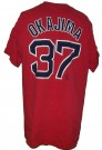 Boston Red Sox MLB Baseball T-Shirt #37 Okajima: L