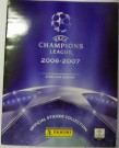 Samlaralbum Champions League 2006-2007 + Program Komplett