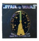 May the Force be with you Vintage Star Wars Pin