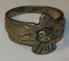 Ring Hopi Indian Silver: Ca 21mm