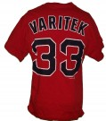 Boston Red Sox MLB Baseball T-Shirt #33 Varitek: M