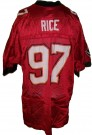 Tampa Bay Buccaneers #97 Rice NFL On-Field tröja: L
