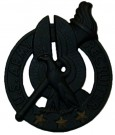 Insignia Recruiter Black 3 Stars Original