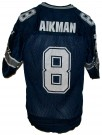Dallas Cowboys #8 Aikman NFL Football Vintage tröja: S