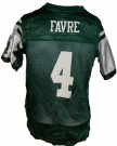 New York Jets #4 Favre NFL On-Field tröja: S