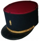Kepi Noir Officer Legion Etrangere: 55-56