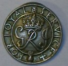 For Loyal Service Lapel Button WW2 original