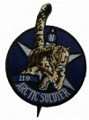 Arctic Soldier patch tygmärke NATO