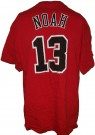 Chicago Bulls #13 Noah NBA Basket T-Shirt: XL