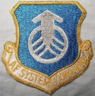 Air Force Systems Command Tygmärke färg