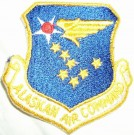 Alaskan Air Command US Air Force patch färg