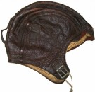 B-1 Goatskin Leather Pilot Helmet NAF WW2 original