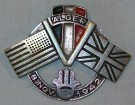 Badge Nordafrika Alger 1942 WW2 original