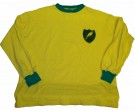 Norwich City #4 Toffs Retro tröja: L