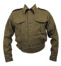 Fältjacka M37 Battle Dress Uniform IKE WW2 repro