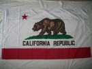California Republic Kalifornien Flagga 150 x 90cm