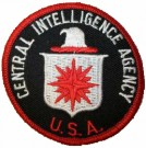 CIA Central Intelligence Agency Tygmärke