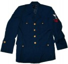 Coat Mens Service Dress Blue US Navy: US 40R