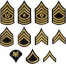 Rank US Army Blue: VALFRI RANG