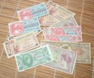 Dollar Bills Sedlar Military Vietnam War 1966 repro
