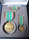 European African Middle Eastern Campaign Medaljset x4