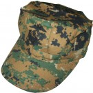 Field Cap Utility Digital Woodland USMC