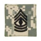 First Sergeant ACU Digital med kardborre