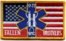 Flagga 9-11 US Anti-Terror Fallen Brothers WTC