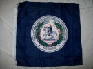 Flagga CSA Confederate Seal Civil War
