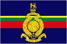 Flagga Royal Marines Storbritannien 150x90cm