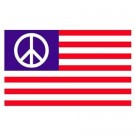 Flagga USA Peace-movement 150x90cm