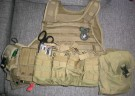Plate Carrier US Army original Afghanistan 2008