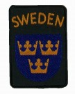 Nationsmärke M90 Original Marinen Sweden Sverige