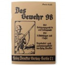 Mauser 98K K98 Gewehr 98 Manual WW2 repro