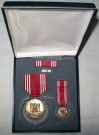 Good Conduct Army Medaljset x4