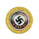 Ehrennadel NSDAP Gold DeLuxe repro