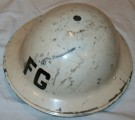 Hjälm Tommy 1939 Fire Guard WW2 original