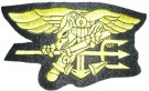Insignia Trident Navy Seal stort