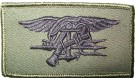 Insignia Trident Navy Seal Subdued