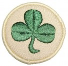 Irish Regiment Uniformsmärke