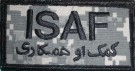 ISAF med Arabisk text ACU Combat patch