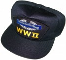 Keps CIB US Army WW2 Snap-Back