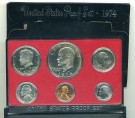Mynt Dollar Six-coin Set 1974 Vietnam War Era